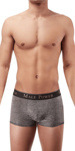 Male Power Viper Pouch Short In Snake Print