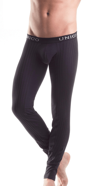 Mundo Unico 9610110199 Long Johns Intenso Black