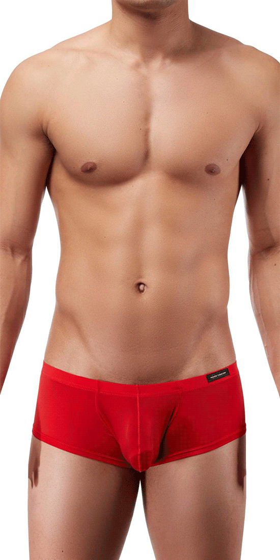 Private Structure Dgemu3487bt Desire Glaze Hipster Boxer Brief Red