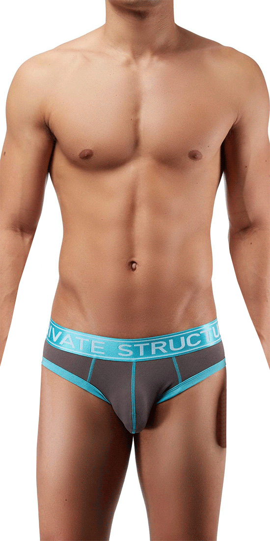 Private Structure Sluz3681 Soho Luminous Briefs Teal
