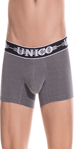 Mundo Unico 1802010011194 Boxer Briefs Self  Gray