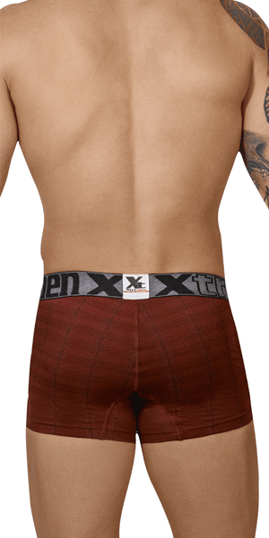 Xtremen 51451c Geometric Jacquard Trunk Red