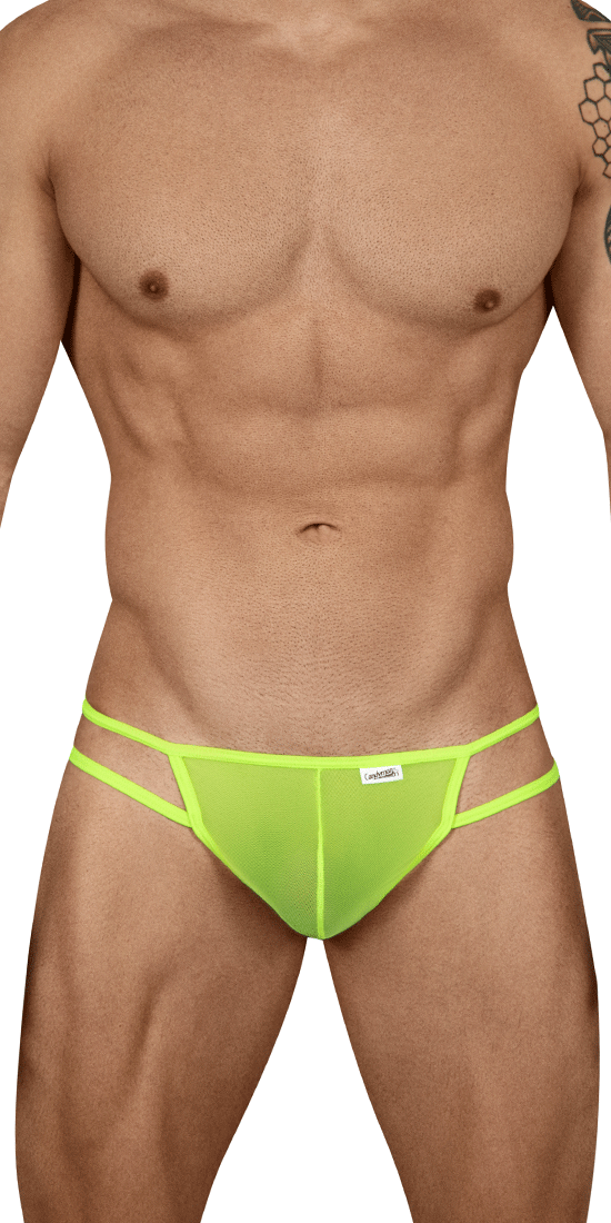 Candyman 99435 Mesh Thongs Green