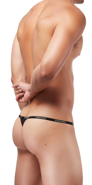 DOREANSE Aire Thong In Black