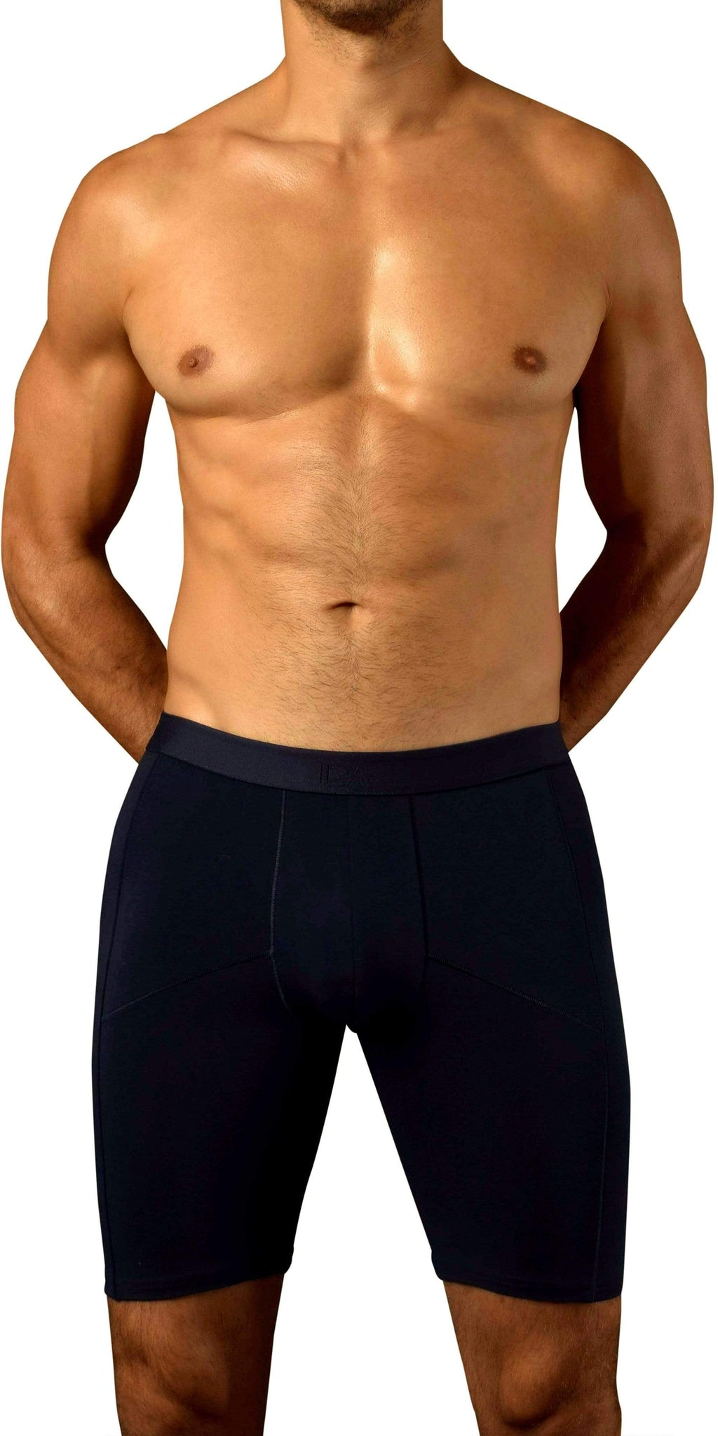 DOREANSE 1792 Athletic Boxer Brief in Indigo Navy