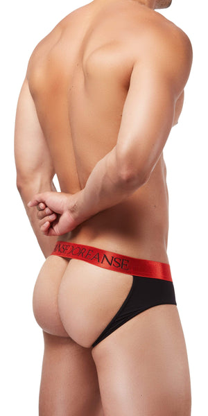 DOREANSE 1310 Bravo Brief-Jock In Black