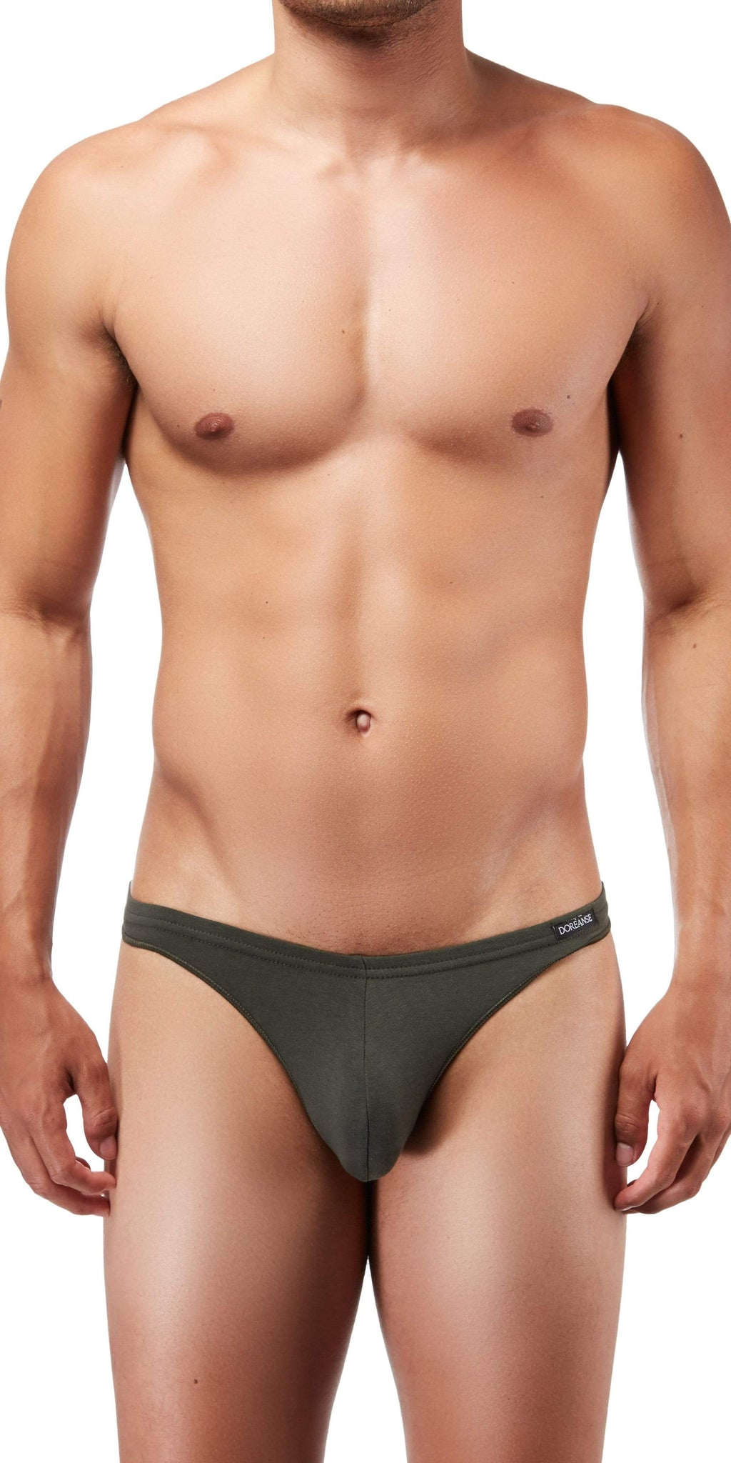 DOREANSE Euro Thong In Army Green