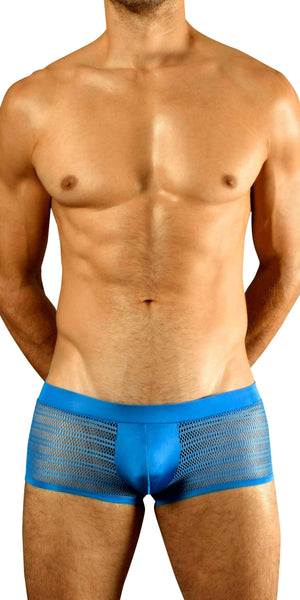 DOREANSE 1588 Mesh Trunk in Azure Blue