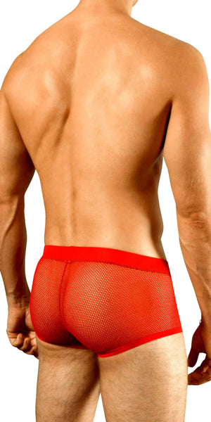 DOREANSE Mesh Trunk in Cherry Red