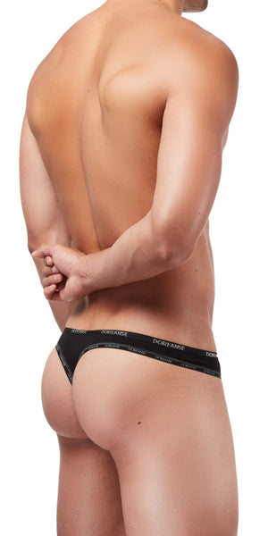 DOREANSE Naked Thong In Black