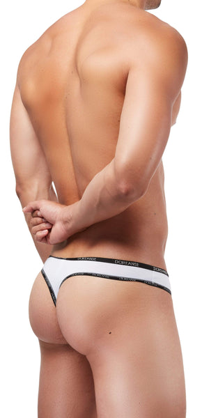 DOREANSE 1216 Naked Thong In White