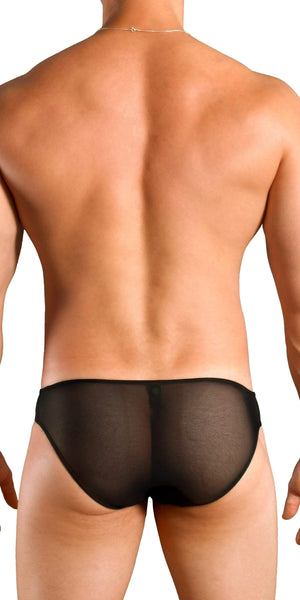 DOREANSE Sexy Sheer Brief in Jet Black
