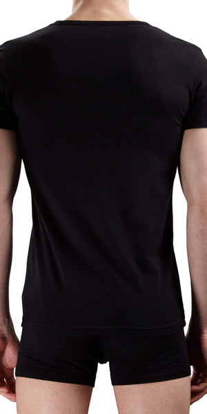Emporio Armani V-neck Shirt Black - 110810cc718