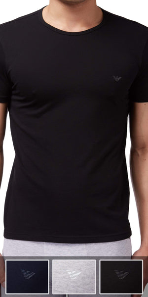 Emporio Armani 3-Pack T-shirt Gray-black-navy - 110821cc722