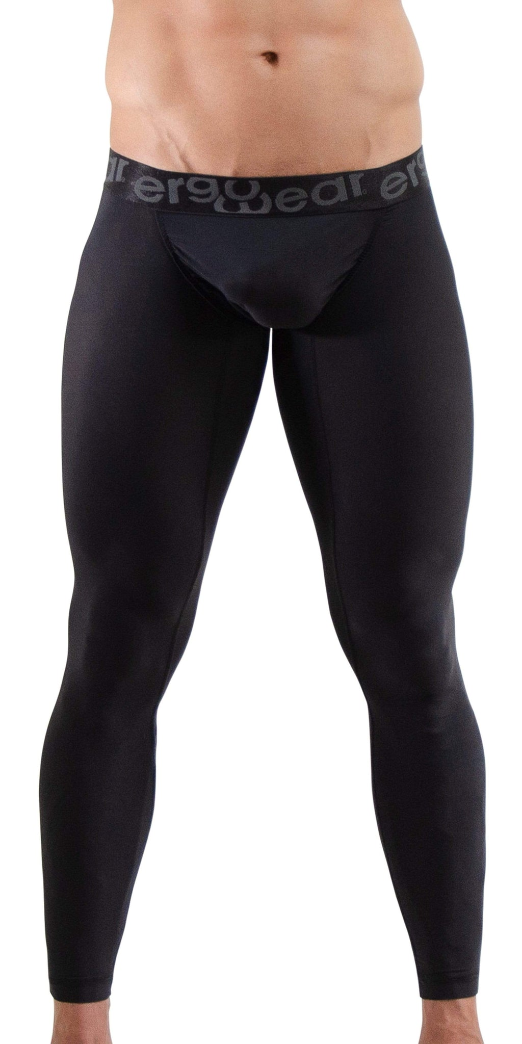 ERGOWEAR FEEL XV Long Johns In Black