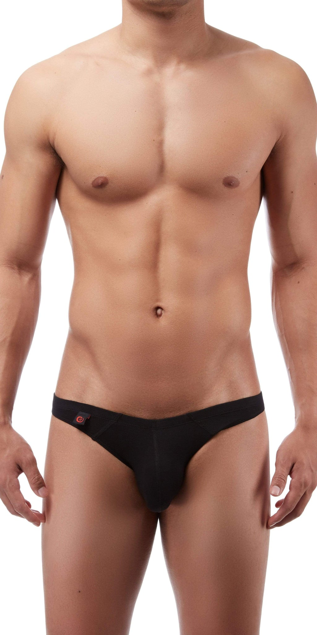 Jack Adams Lux Mens Low Rise Bikini Brief In Black