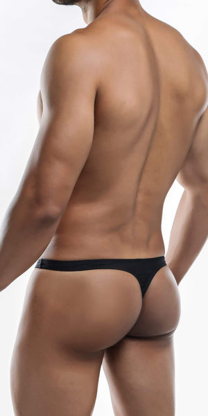 JOE SNYDER Polyester Thong In Black