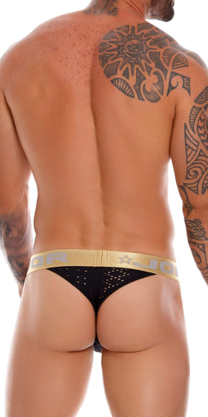 Jor 0936 Charles Thongs Black
