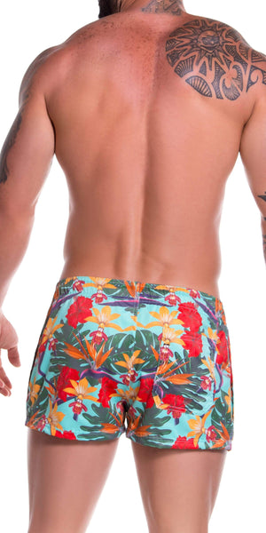 Jor 0775 Garden Mini Short Swim Trunks Printed