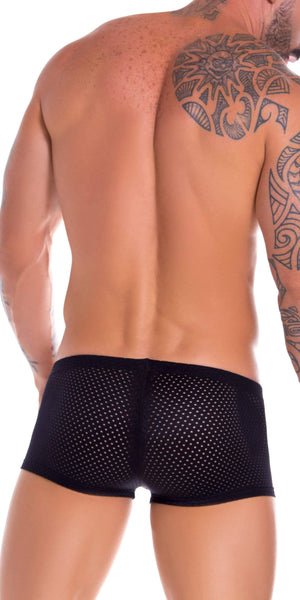 Jor 0832 Gipsy Boxer Briefs Black