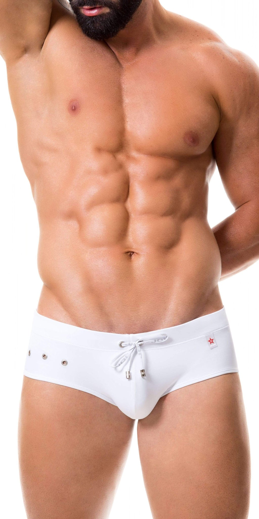 JOR Hot Swim Brief In White