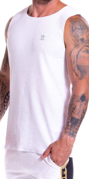 JOR Jordan Tank Top In White