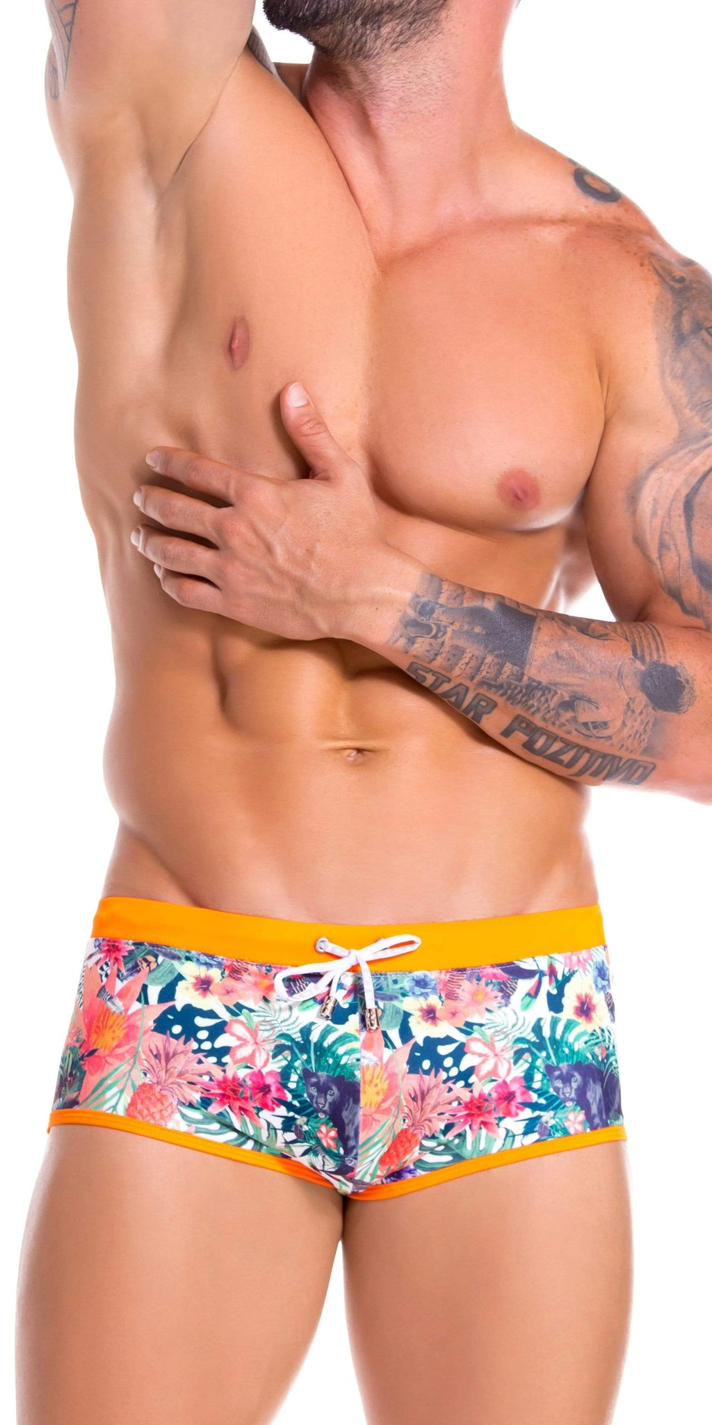 Jor 0899 Panther Swim Trunks Printed