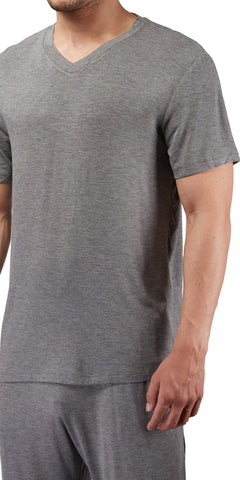 Male Power Bamboo T-Shirt In Gray
