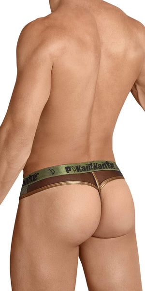 Pikante 8053 Sherlock Thong In Green