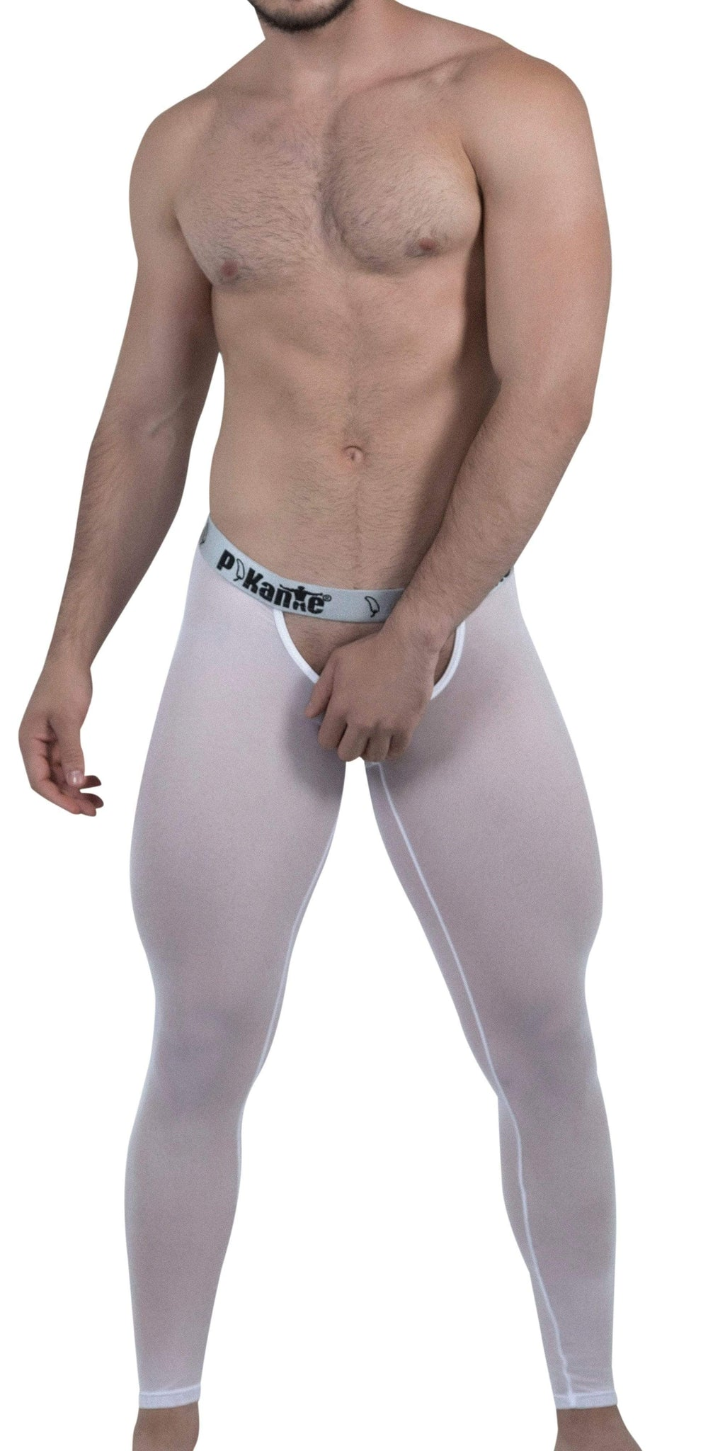 Pikante Underwear Soho Long Johns In White