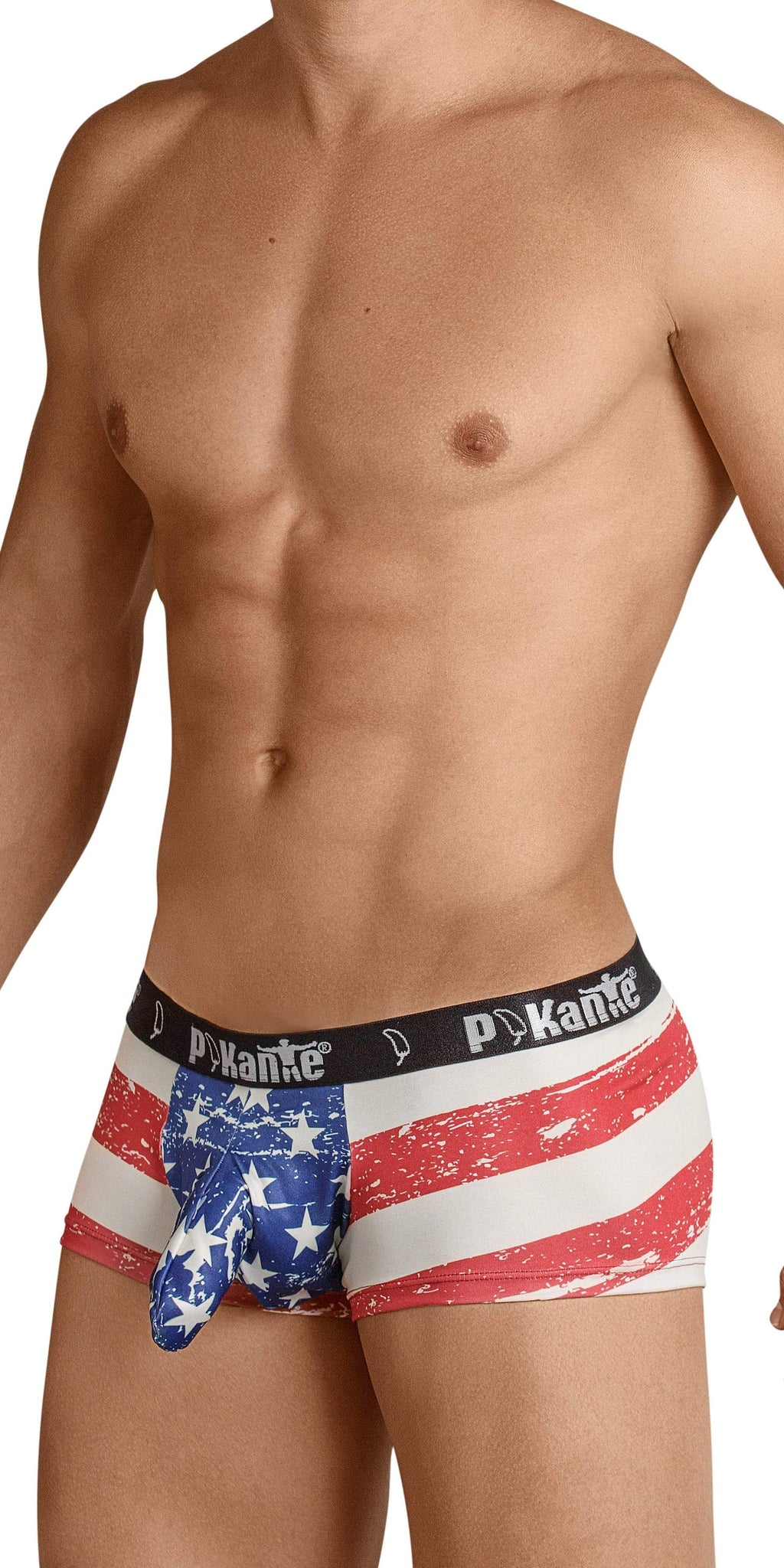 Pikante Underwear USA Castro Trunk In Red