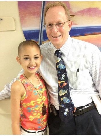 Talia and Dr. Eslin (Talia's Oncologist)