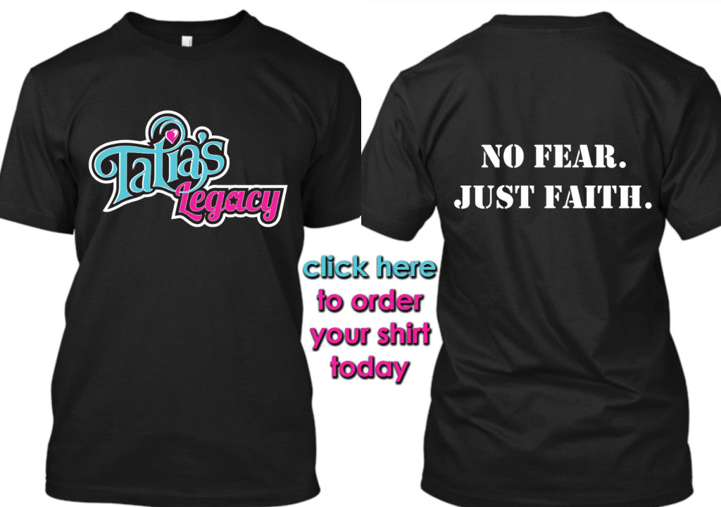 No Fear Just Faith Shirts