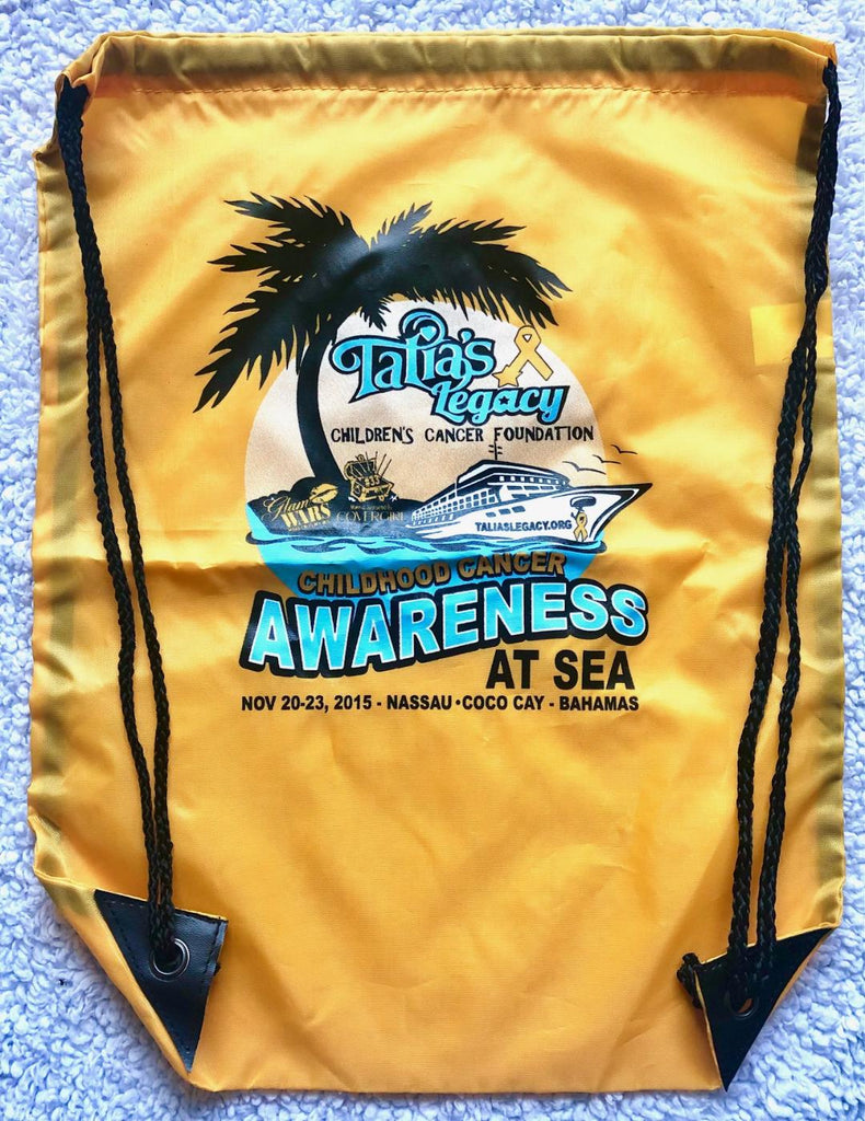CHILDHOOD CANCER AWARENESS AT SEA TOTE BAG