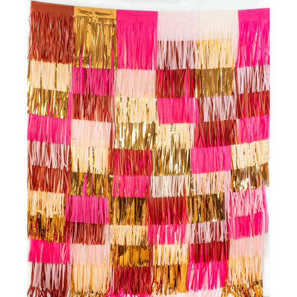 Pretty N' Pink Tassel Backdrop Kit, Tassel Garlands, Jamboree