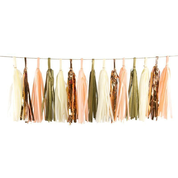 Champagne Kisses Tassels, Tassel Garlands, Jamboree Party Box, Jamboree
