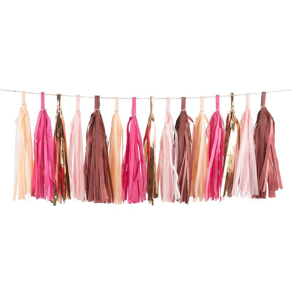 Pretty N' Pink Tassels, Tassel Garlands, Jamboree