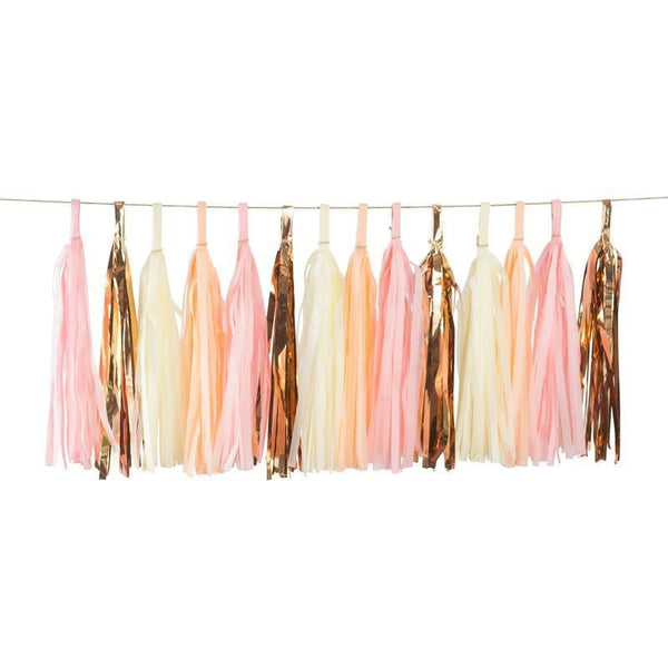 Blushing Peony Tassels, Tassel Garlands, Jamboree
