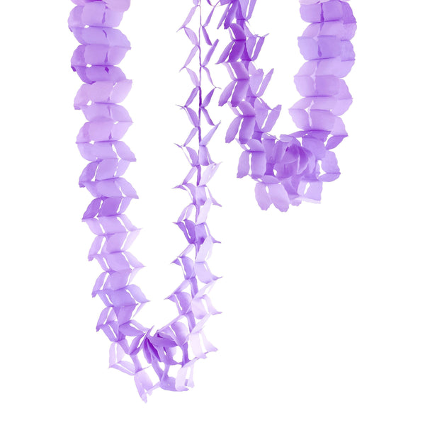 10ft Lavender Clover Accordion Streamer, Banners & Backdrops, Jamboree Party Box, Jamboree