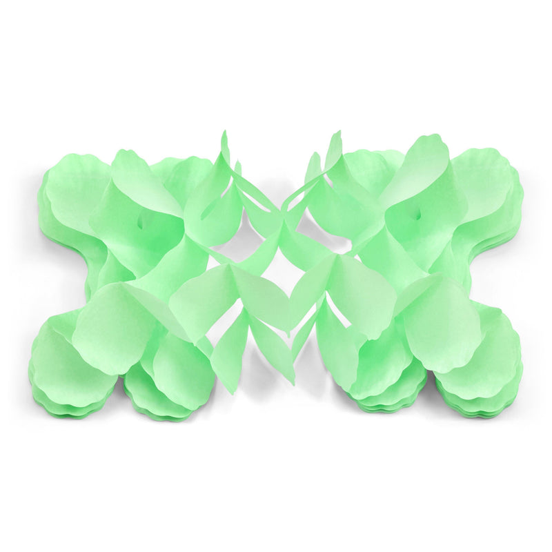10ft Mint Green Accordion Streamer, Banners & Backdrops, Jamboree Party Box, Jamboree