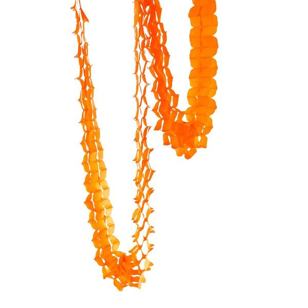 10ft Tangerine Accordion Streamer, Banners & Backdrops, Jamboree Party Box, Jamboree