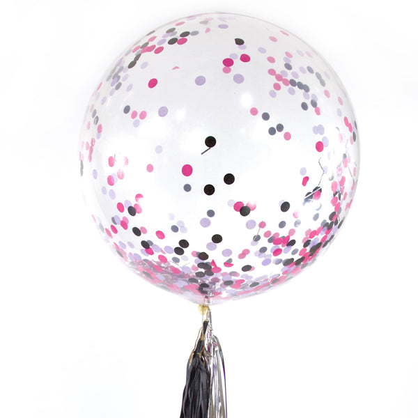 "36"" Bachelorette Bash Confetti Balloon, Decorative Balloons, Jamboree"