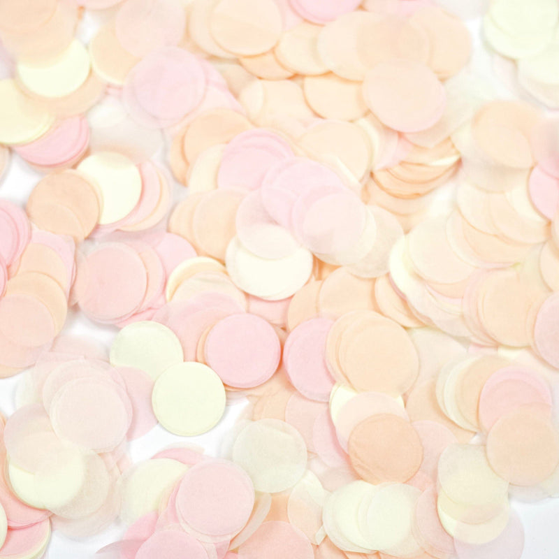 "36"" Blushing Peony Confetti Balloon, Decorative Balloons, Jamboree"