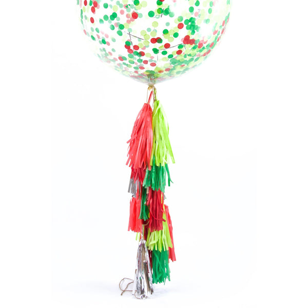 "36"" Dr. Seuss Christmas Confetti Balloon, Decorative Balloons, Jamboree"