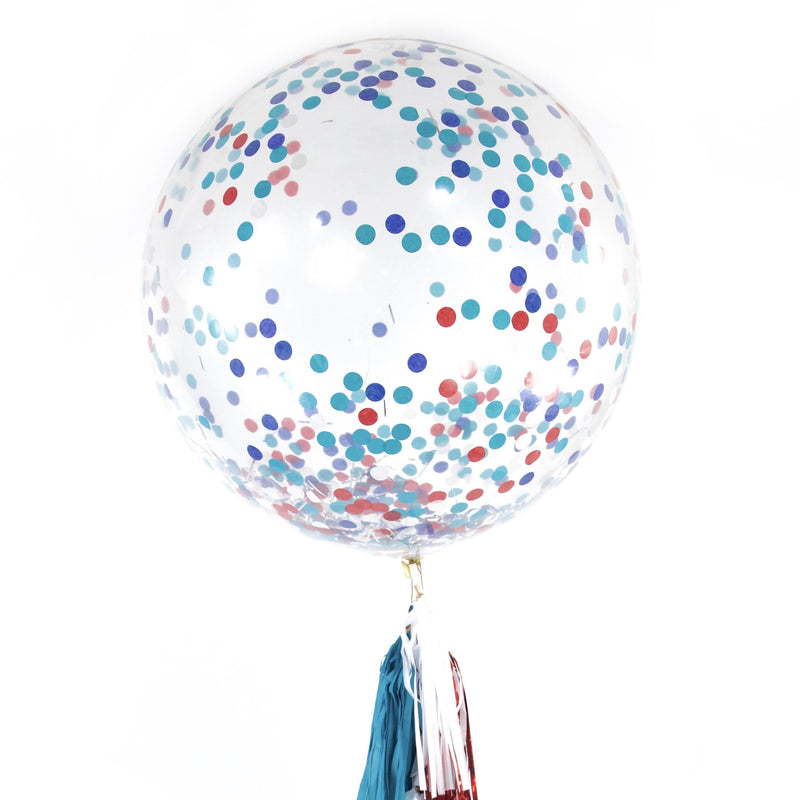 "36"" Evening Sparklers Confetti Balloon, Decorative Balloons, Jamboree Party Box, Jamboree"