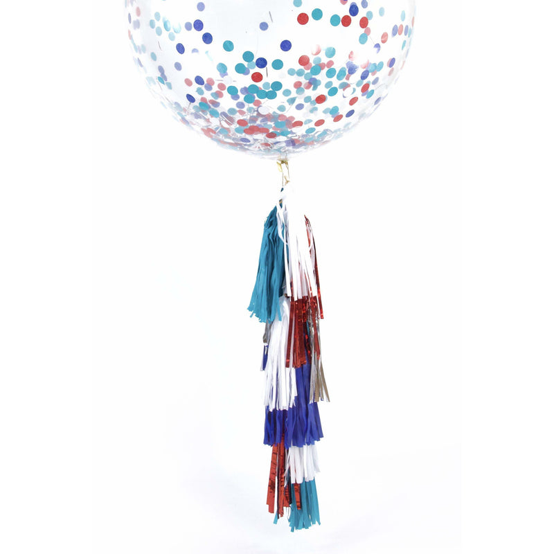 "36"" Evening Sparklers Confetti Balloon, Decorative Balloons, Jamboree"