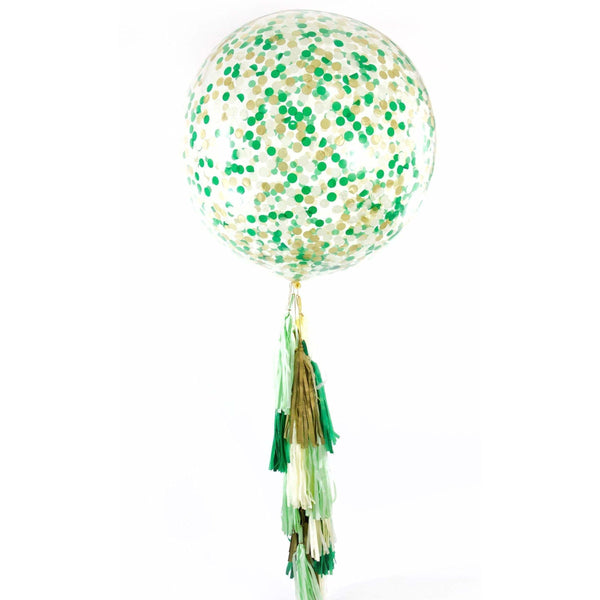 "36"" Forest Fancy Confetti Balloon, Decorative Balloons, Jamboree"