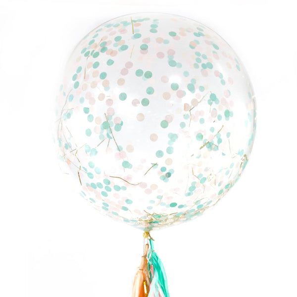 "36"" Jamboree Celebration Confetti Balloon, Decorative Balloons, Jamboree"