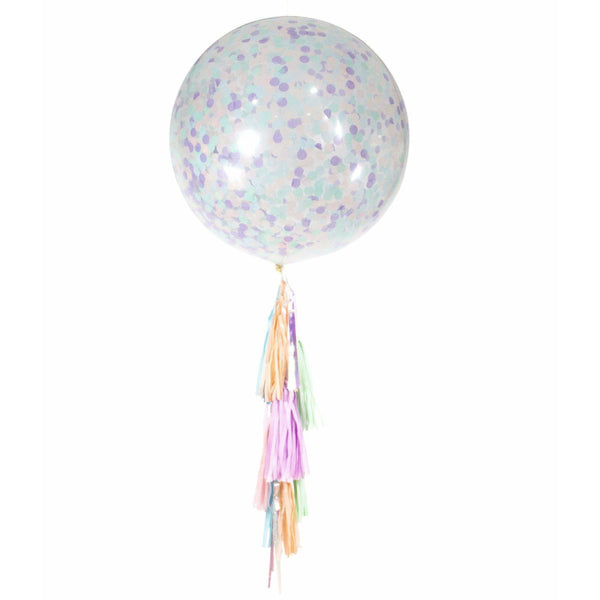 "36"" Mythical Tales Confetti Balloon, Decorative Balloons, Jamboree Party Box, Jamboree"