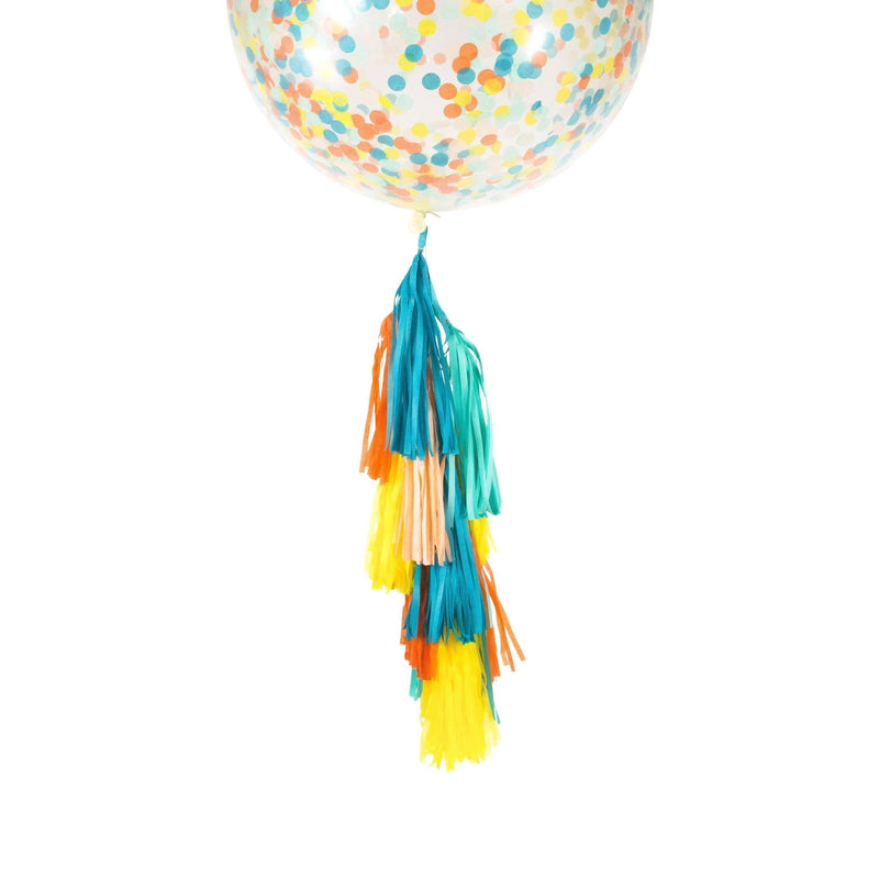 "36"" Retro Carousel Confetti Balloon, Decorative Balloons, Jamboree Party Box, Jamboree"